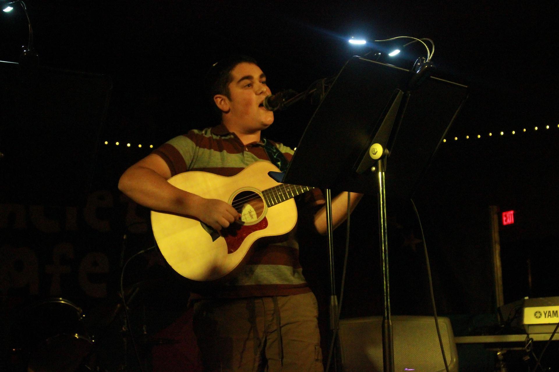 Levi singing