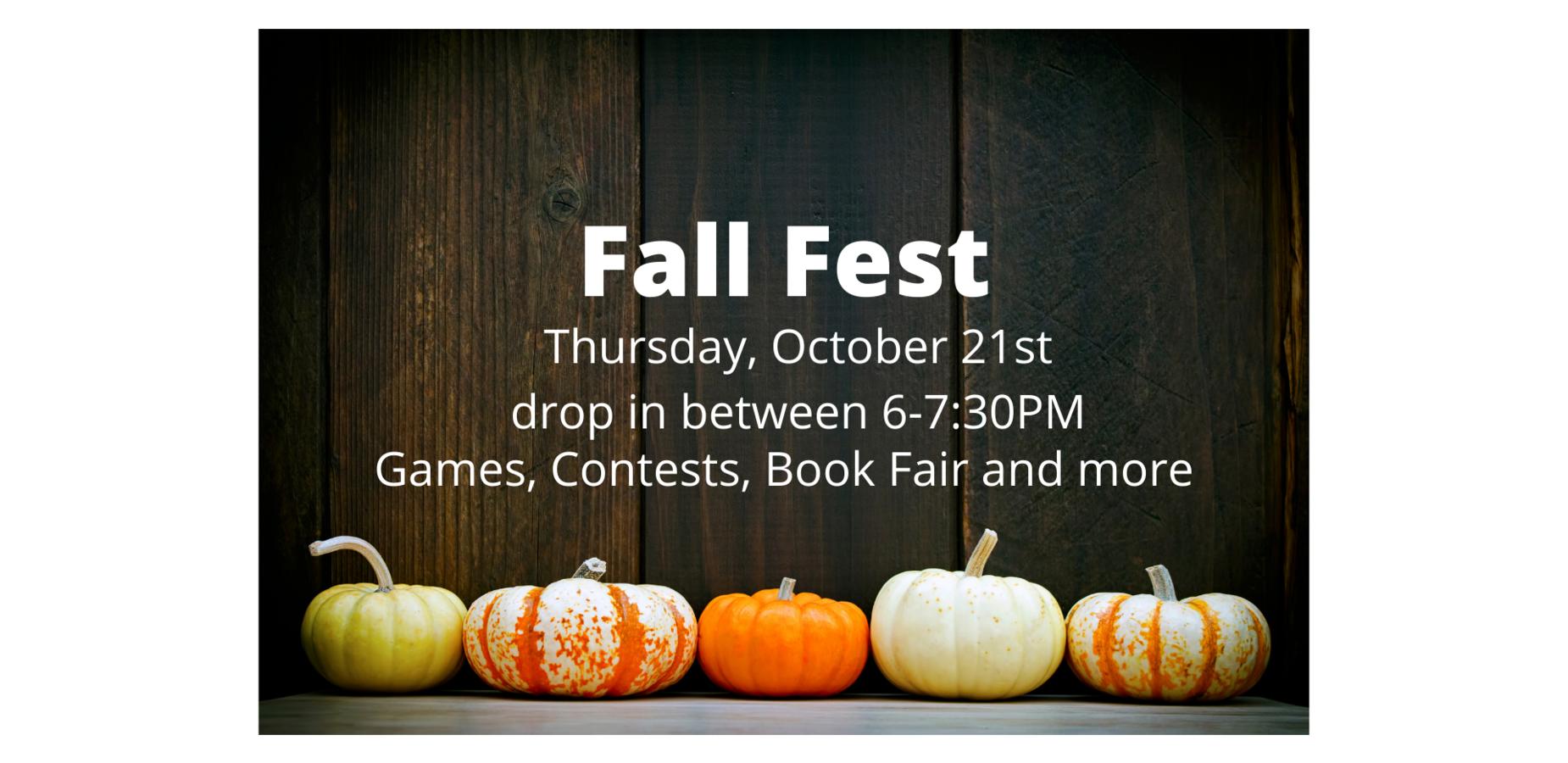 Fall Fest October 21