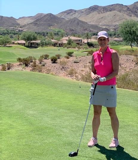 Sue Golf at Reflection Bay