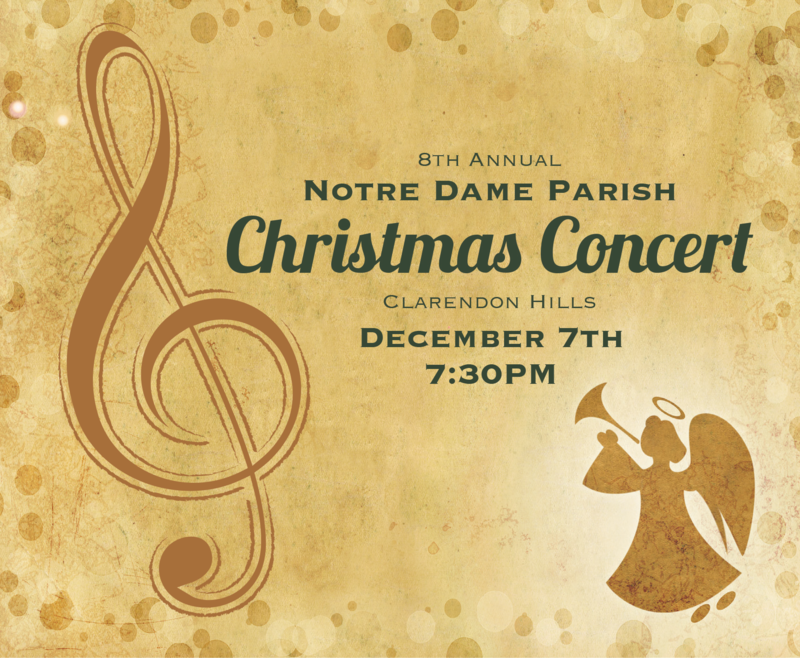 8th Annual Christmas Concert Thumbnail Image