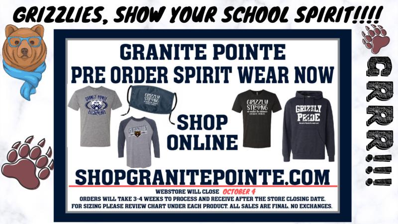 Spirit Store Now Open! // La Tienda de Espiritu Escolar Esta Abierta! Thumbnail Image