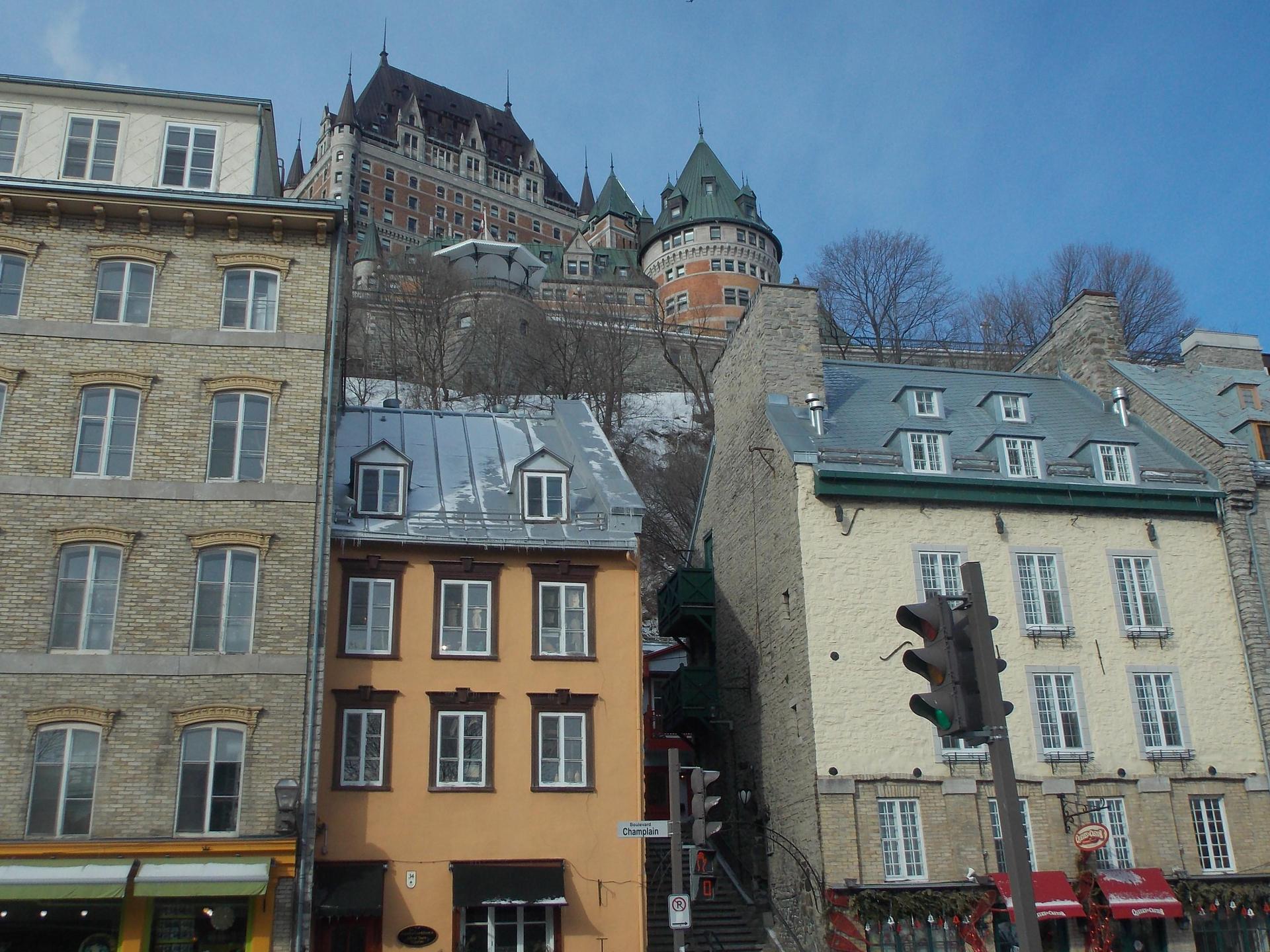 Chateau Frontenac--Quebec, Canada