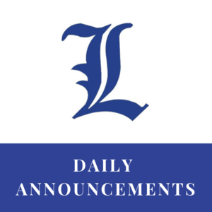 Daily Announcements Link