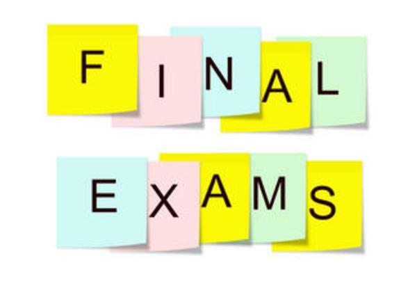 Final Exams this week!  Special Schedule for Thursday & Friday! Featured Photo
