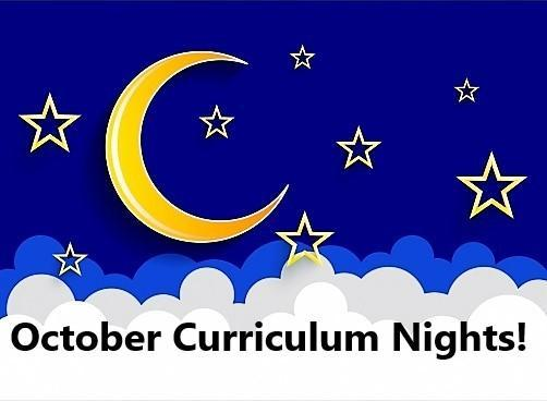Click Here for more details about our October Curriculum Nights! Thumbnail Image