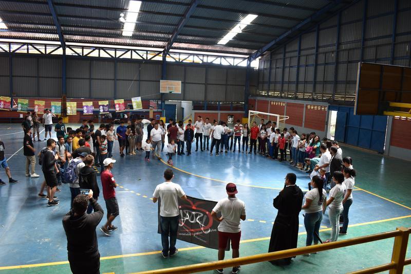 Jóvenes Agustinos Recoletos de Costa Rica celebran y conviven en nuestra urbe educativa. Featured Photo
