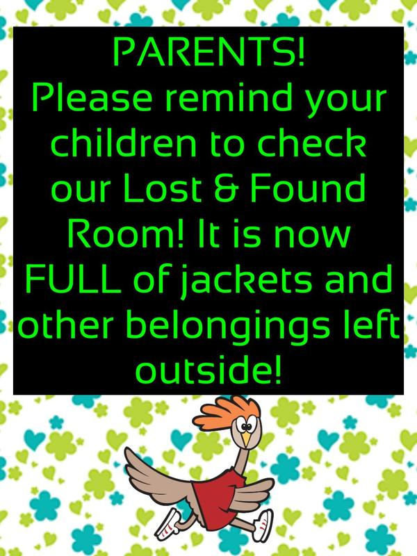 HELP!! Our Lost & Found room is overflowing! Featured Photo