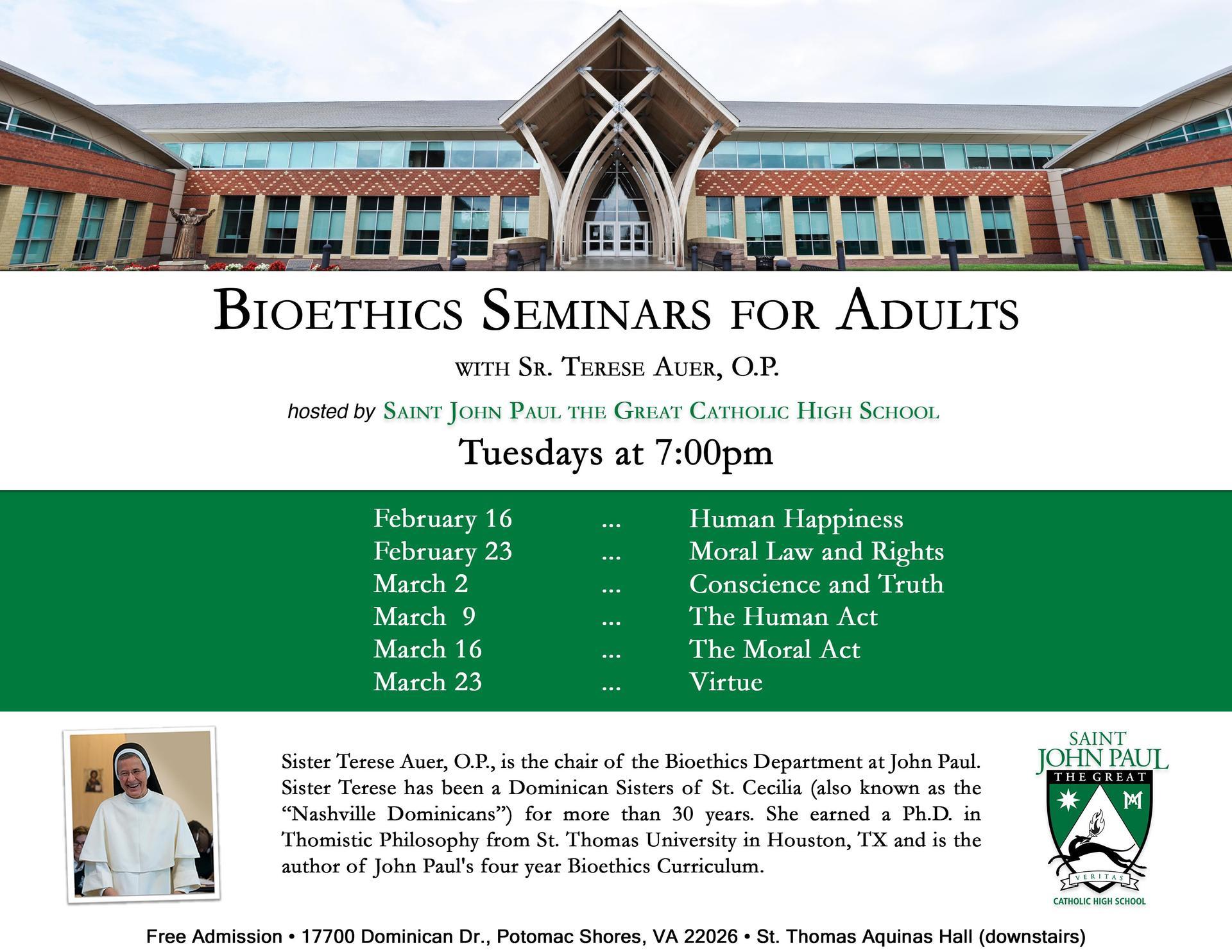 Bioethics Seminar
