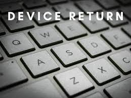 Return of  Student-Issued Devices Featured Photo