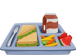 image of school lunch tray