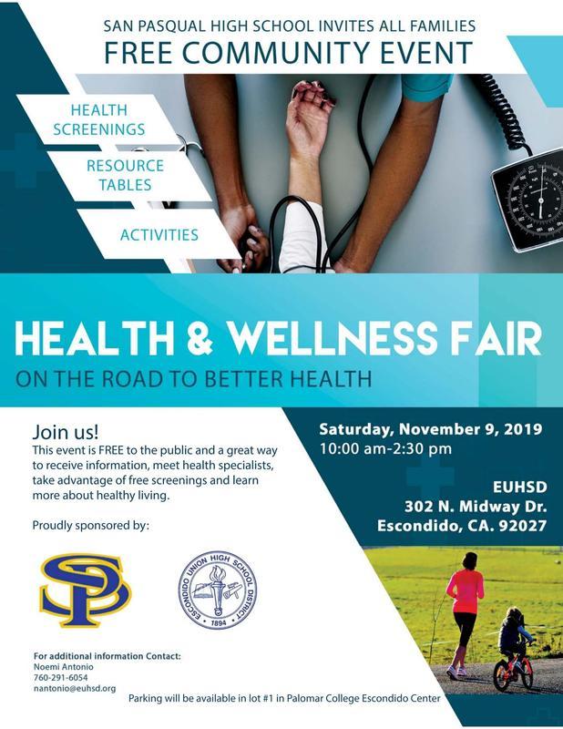 EUHSD Health & Wellness Fair Thumbnail Image
