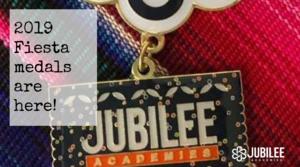 Jubilee Academies Fiesta medals are here!
