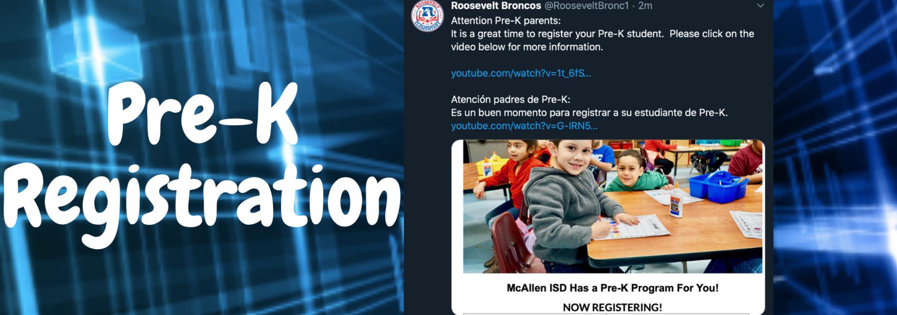 PreK Registration Information
