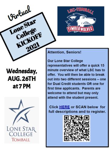 LSC College Kickoff Flyer