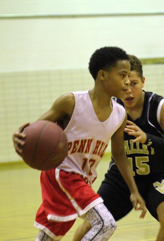 LMS 78 Grade Boys' Basketball vs Valley - 121417