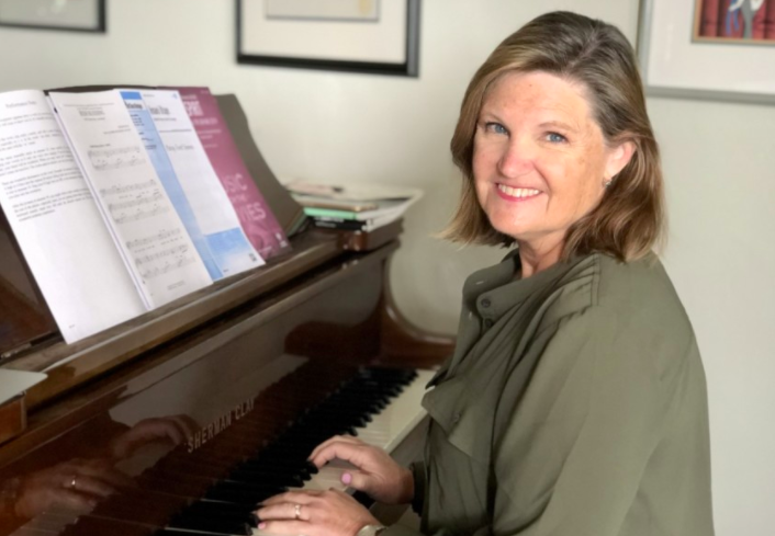 From the arts front lines: Choral teacher Cheryl Slavik looking for ways to 'keep them singing' Featured Photo