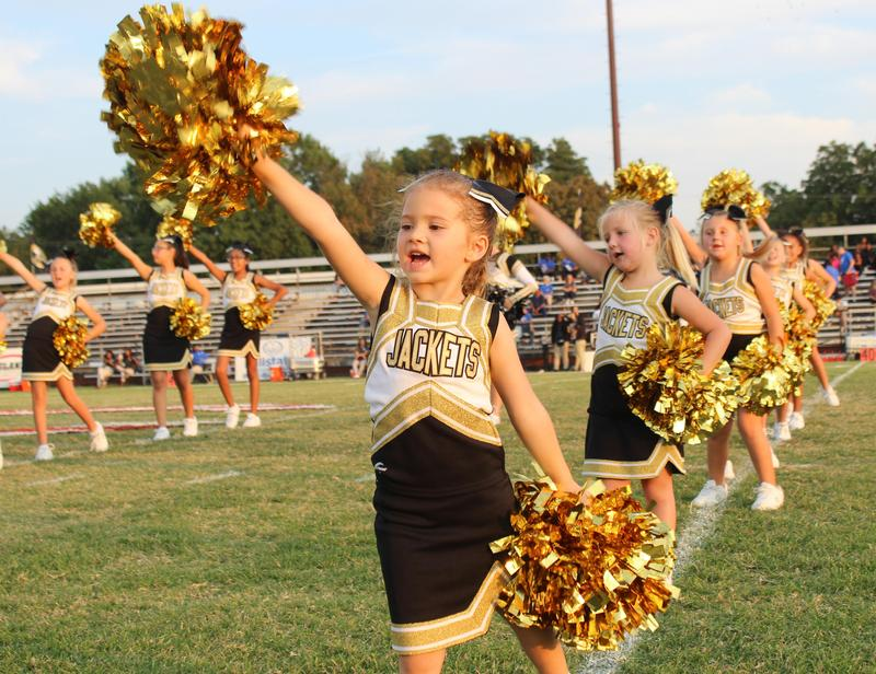 Future Jacket cheerleaders