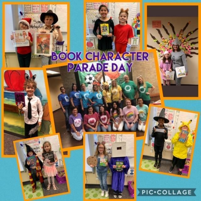 Book Character Parade Day