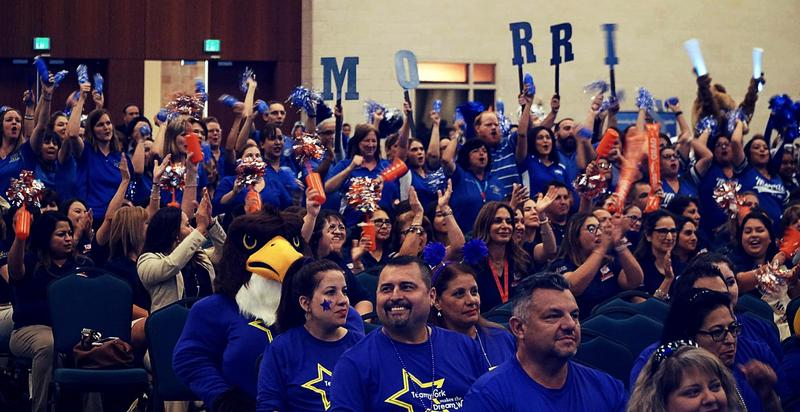 General Assembly picture of McAllen ISD Teachers