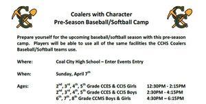 CwC Baseball-Softball Clinic