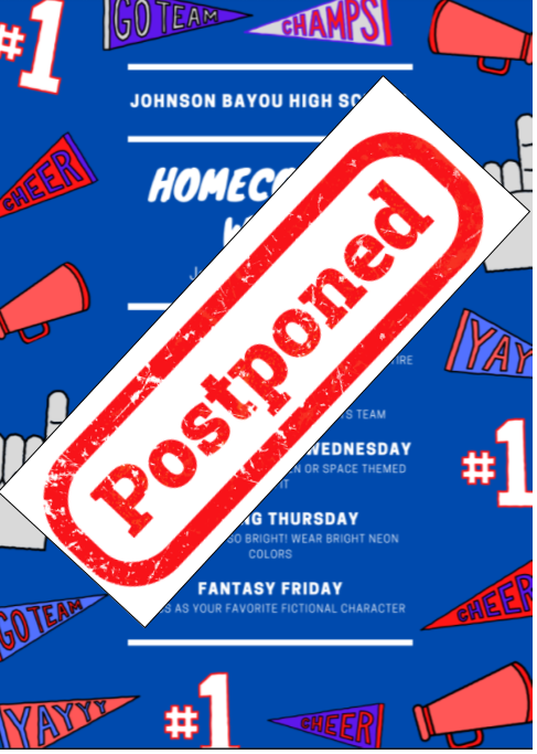 ALL HOMECOMING EVENTS POSTPONED TO THE WEEK OF JANUARY 25TH. DETAILS TO COME! Thumbnail Image