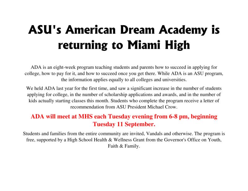 ASU's American Dream Academy Featured Photo