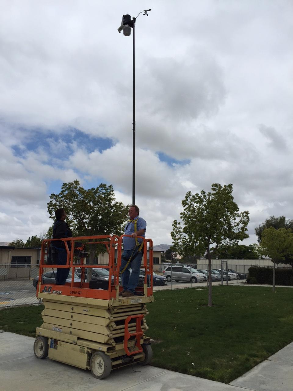 Mountain View Weather Station has gone live
