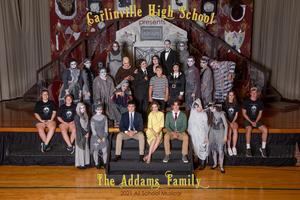 CHS Cast photo of the Addams Family