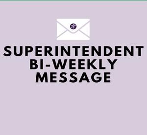 Biweekly Message
