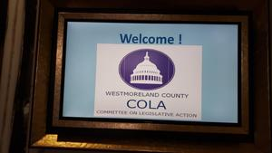 Westmoreland County Committee on Legislative Action (COLA)