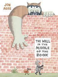 brick wall with ogre reaching over