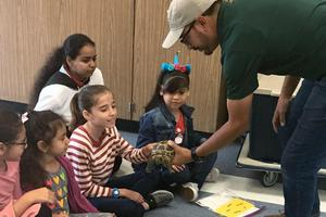 Lord Baden-Powell Students Learn about Animals