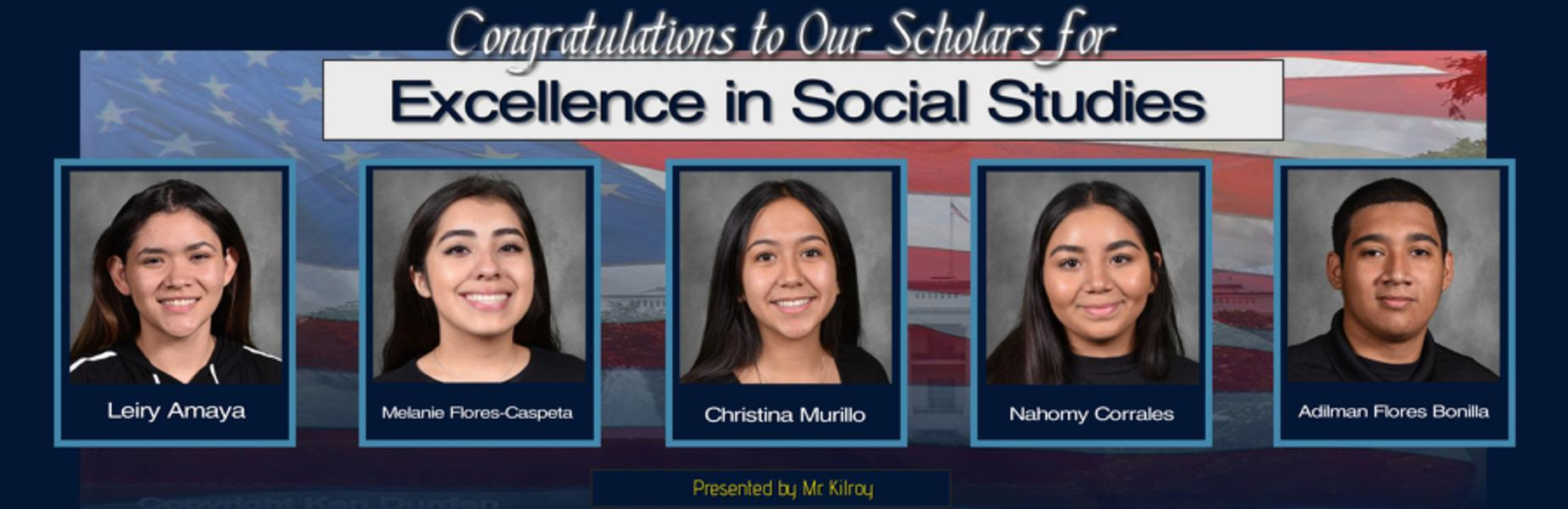 Social Studies Awards 2020
