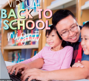 virtual back to school night pic