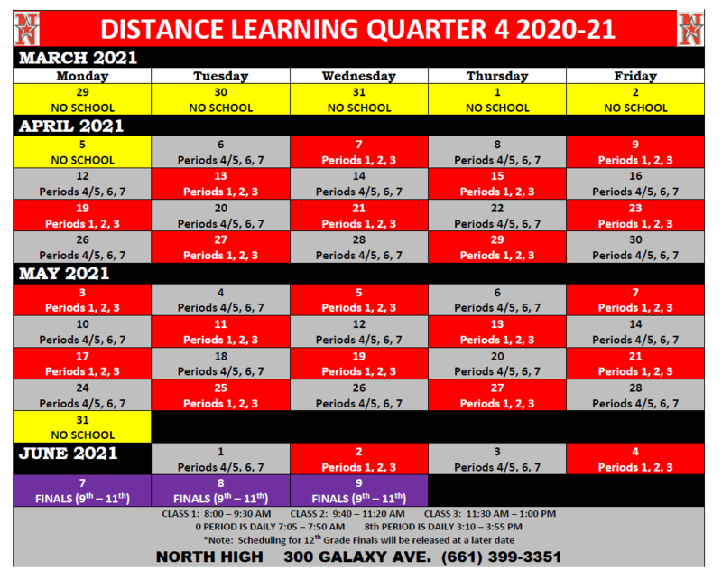 Quarter 4 Red/Gray Schedule Thumbnail Image