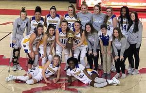 Girls Basketball Bi-District Champs