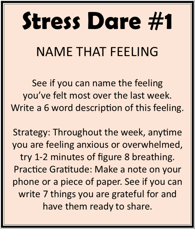 Stress Dare #1