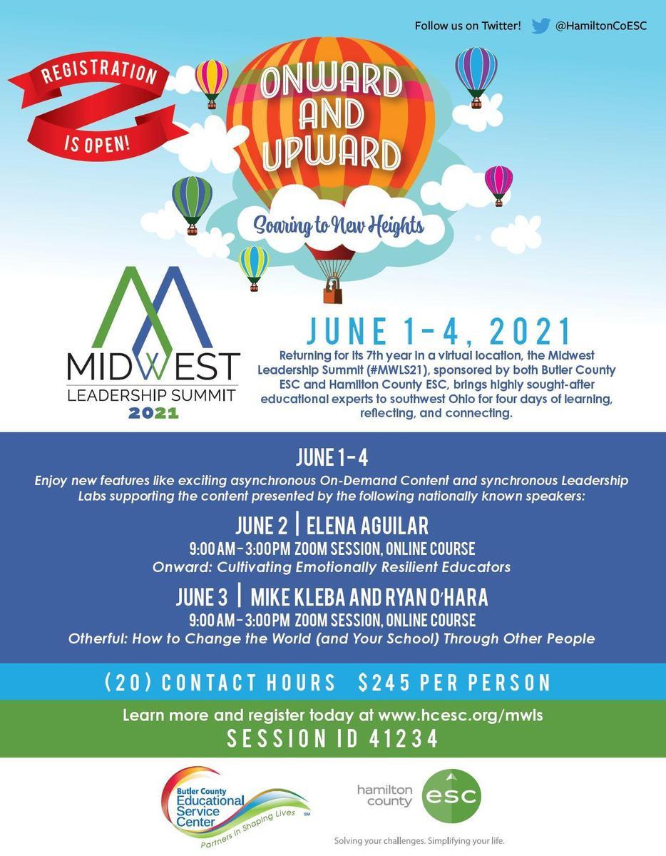 Midwest Leadership Summit 2021 Registration Announcement Flyer