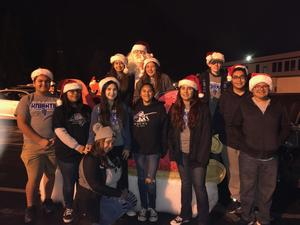RMCHS Students at Reedley Electrical Parade