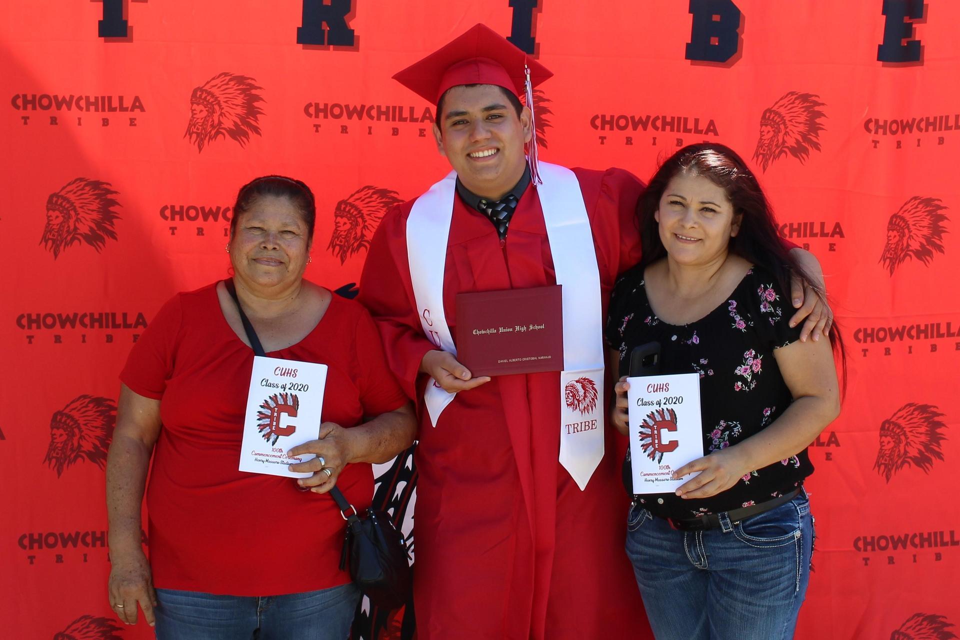 Daniel Cristobal Naranjo and family
