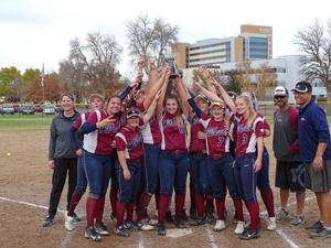 2018 State Champion Mt. Spokane Slowpitch Softball Team