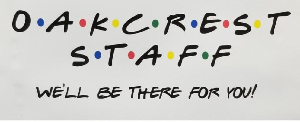 Oakcrest staff logo