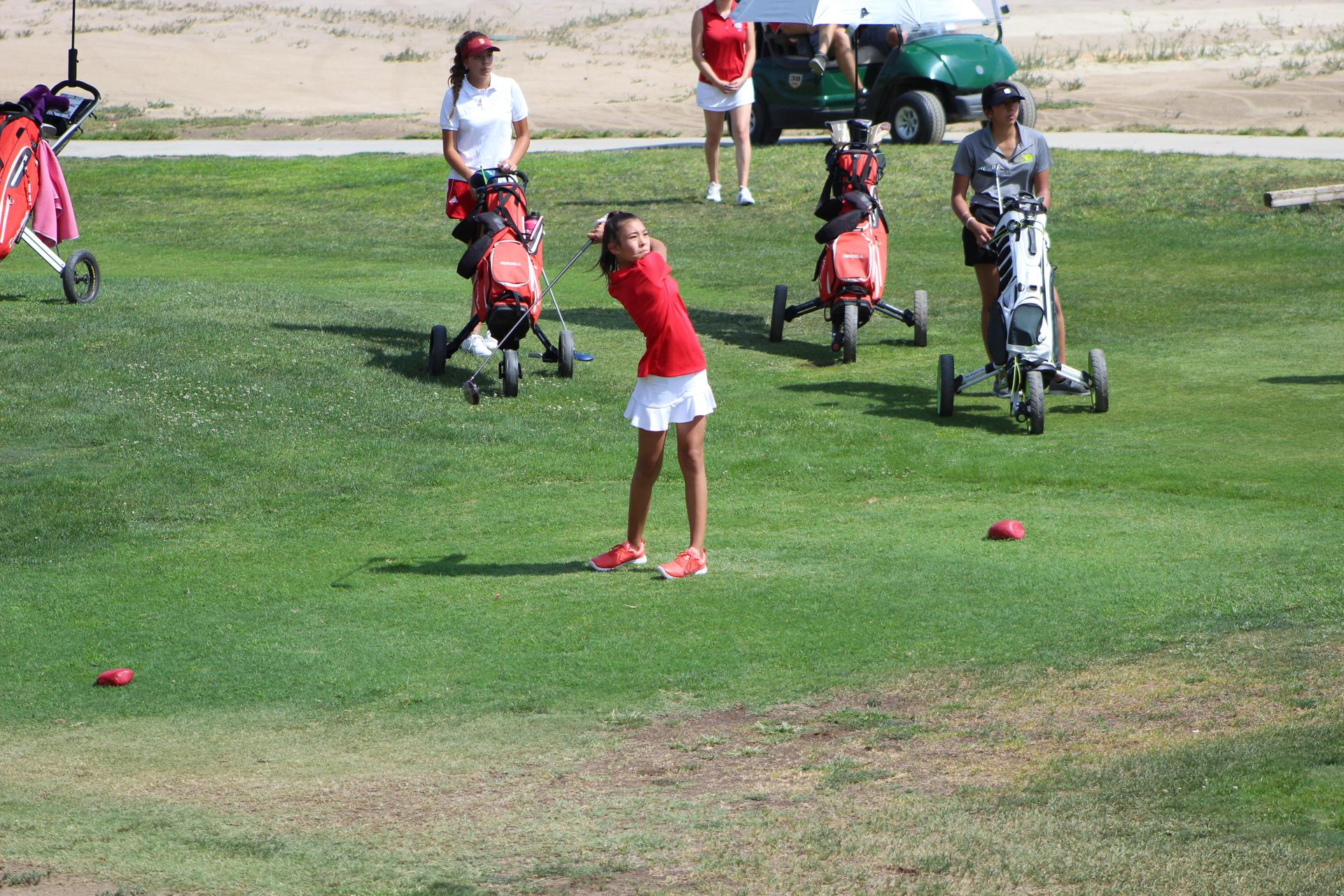 Girl's Golfing vs Sierra Pacific