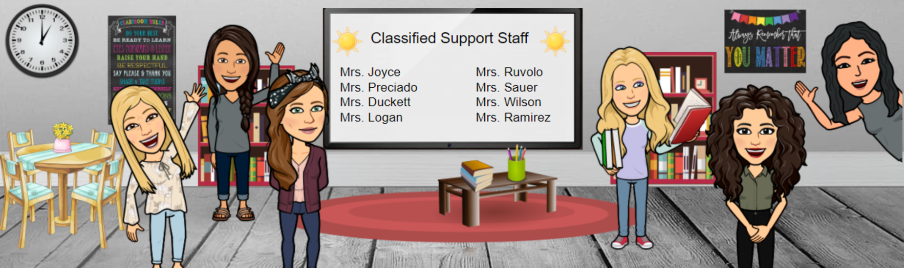 Classified Support Staff