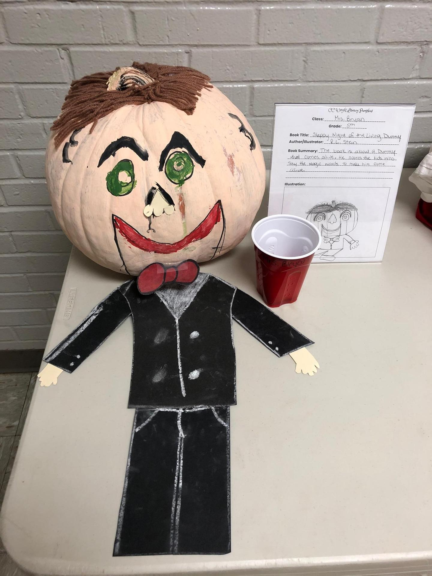Goosebumps pumpkin