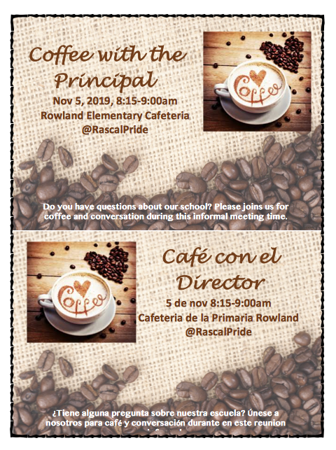 Coffee with the Principal Featured Photo