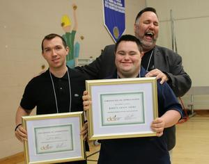 Award recipients at DDI's Self-Advocacy Day 2018