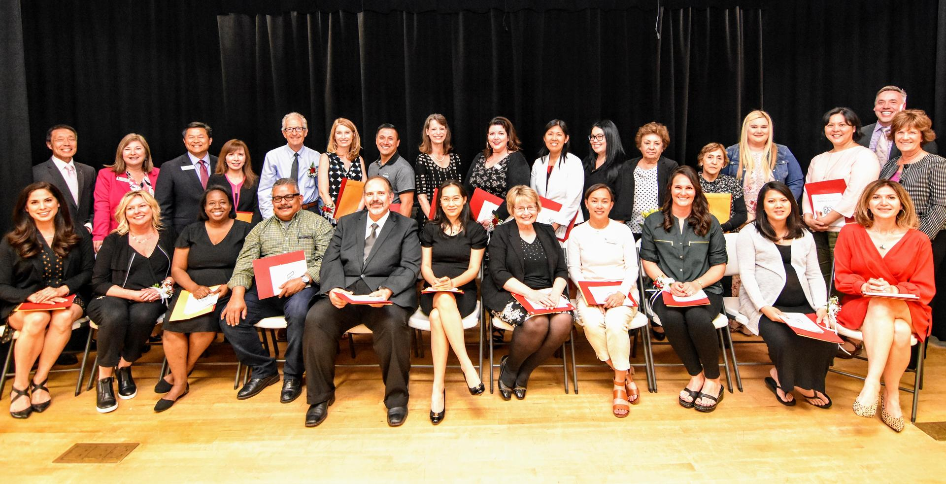2018-19 Arcadia Unified Profiles in Excellence Recipients