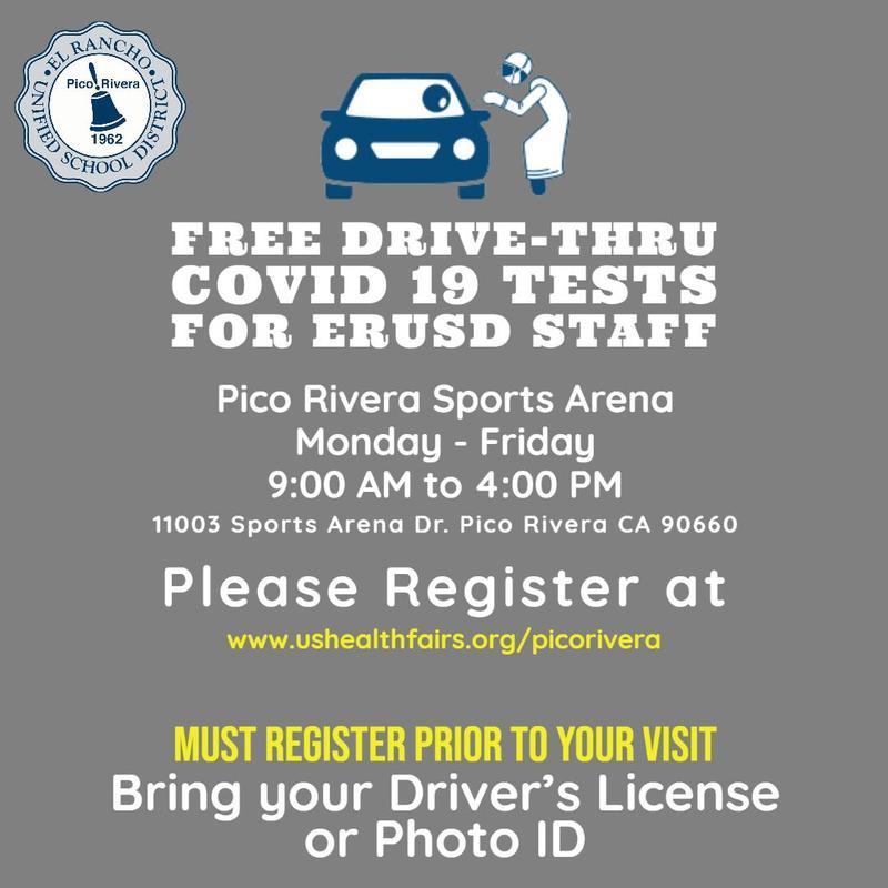 Free COVID 19 Test