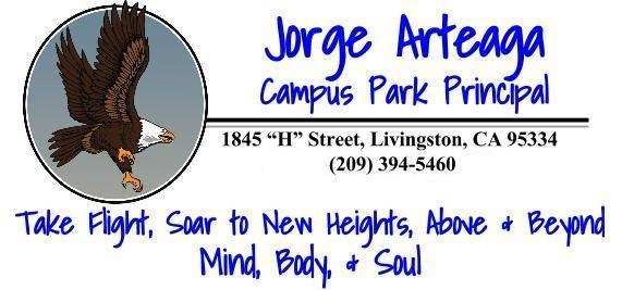 Jorge Arteaga Campus Park Principal signature logo